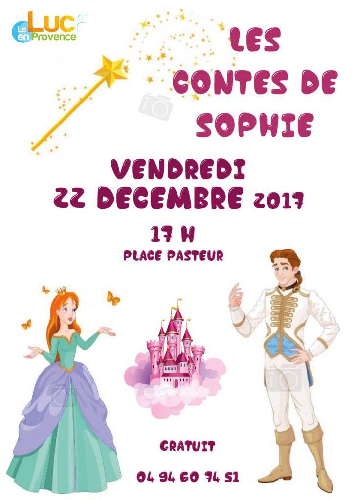 Vendredi 22 décembre, Spectacle Les contes de Sophie