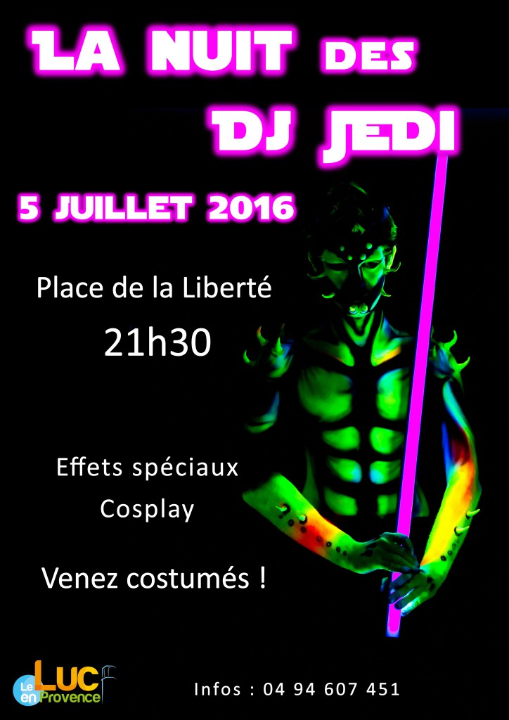 Mardi 5 juillet, Nuit des DJ JEDI