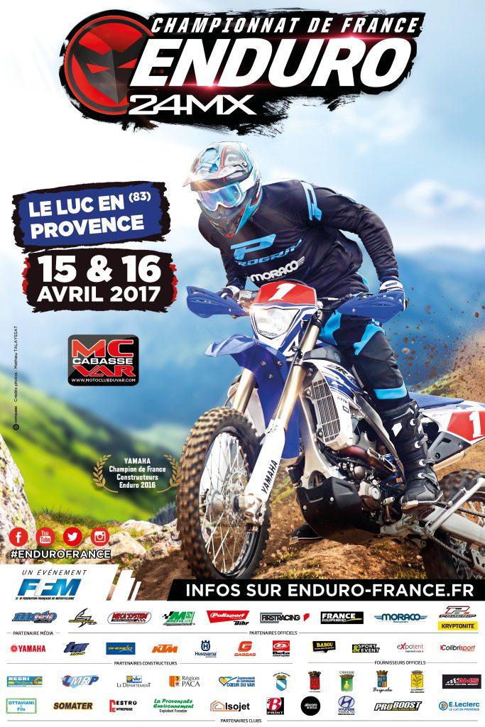Samedi 15 et dimanche 16 avril, Championnat de France d'enduro