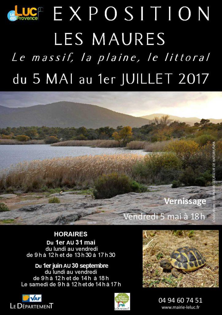 Du 5 mai au 1er juillet : Exposition Les Maures