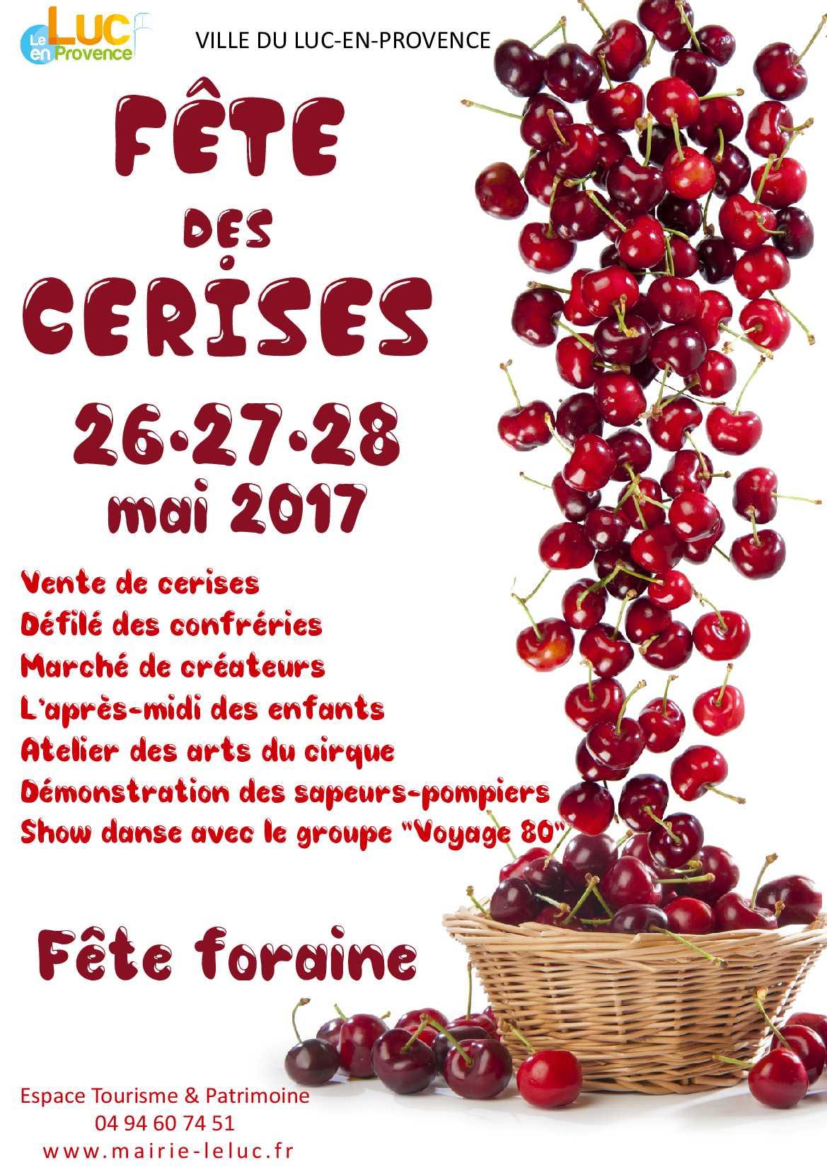 Du 26 au 28 mai, Fête des Cerises