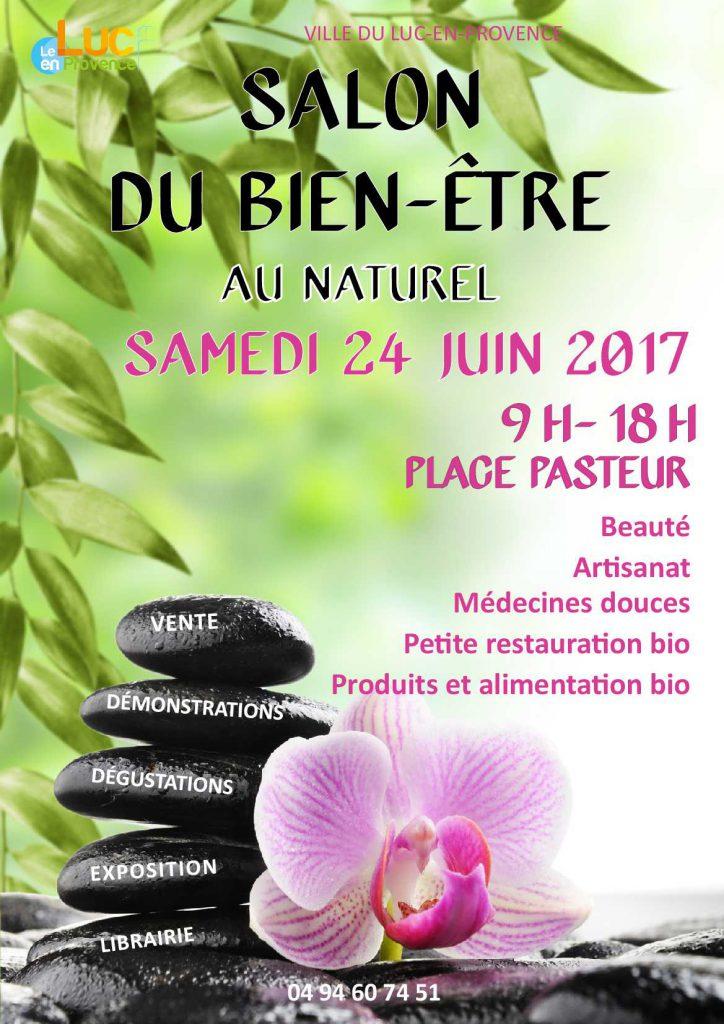 Samedi 24 juin, Salon du bien-être au naturel