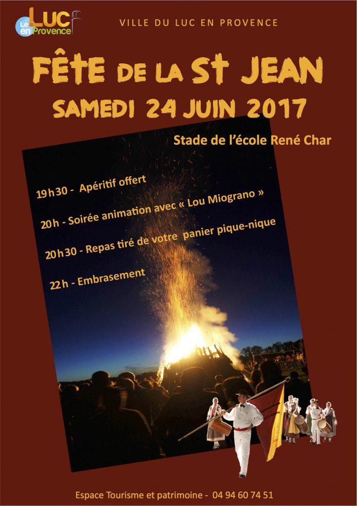 Samedi 24 juin, Fête de la St Jean