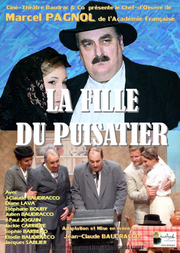 Jeudi 3 août, Théâtre «La fille du puisatier»