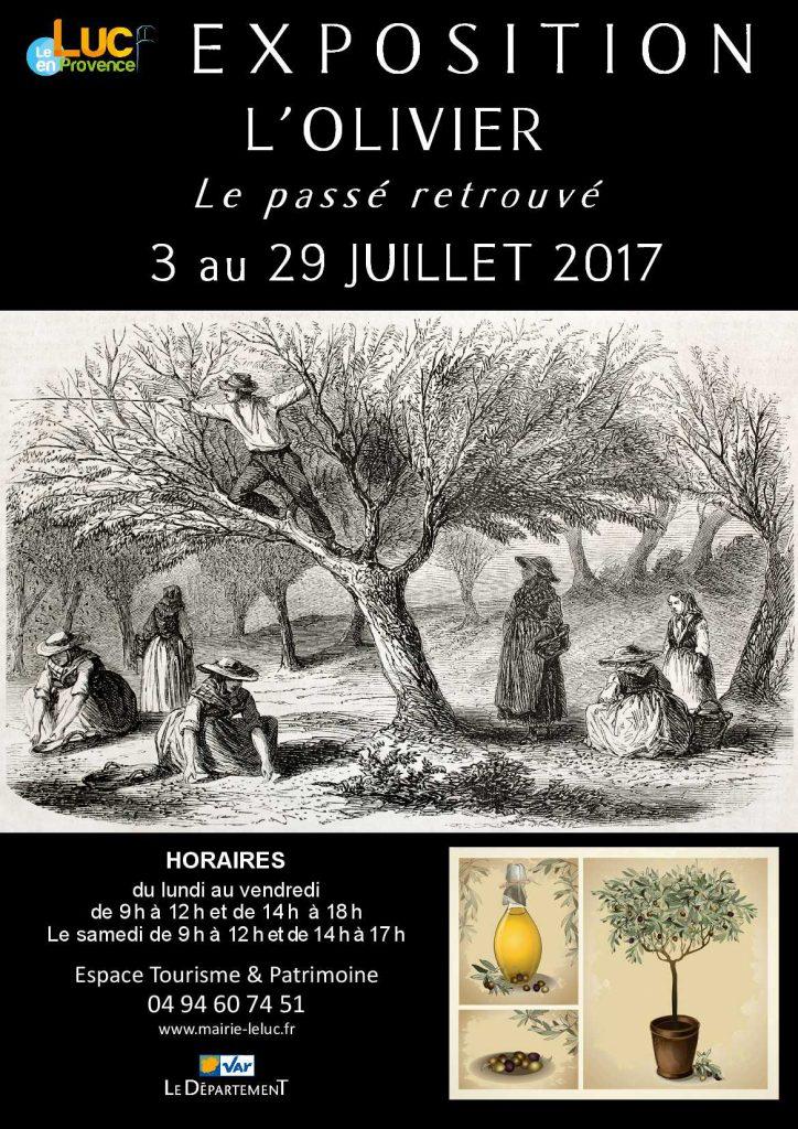 Du 3 au 29 juillet, Exposition « L'olivier, le passé retrouvé »