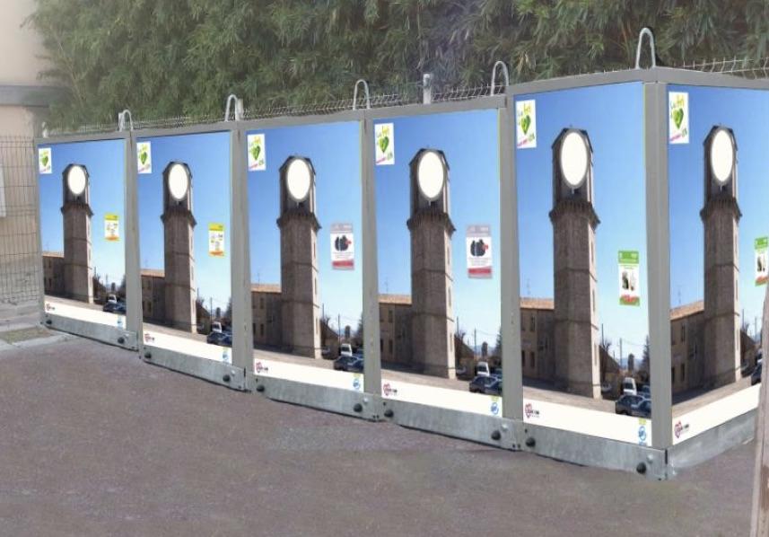 Nouvelle méthode de collecte des déchets en centre-ville