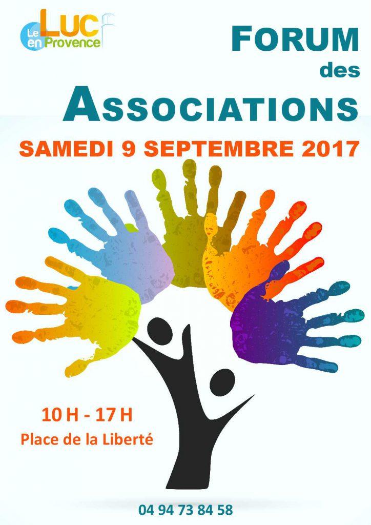Samedi 9 septembre, forum des associations