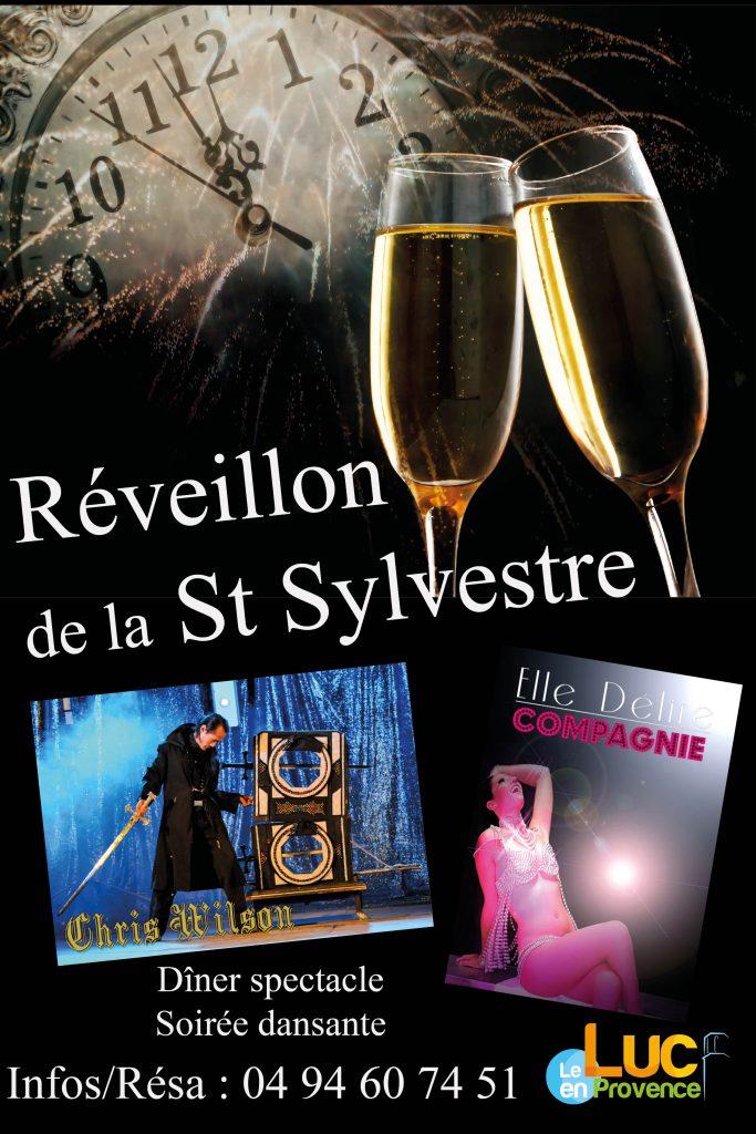 Dimanche 31 décembre, Réveillon de la St Sylvestre
