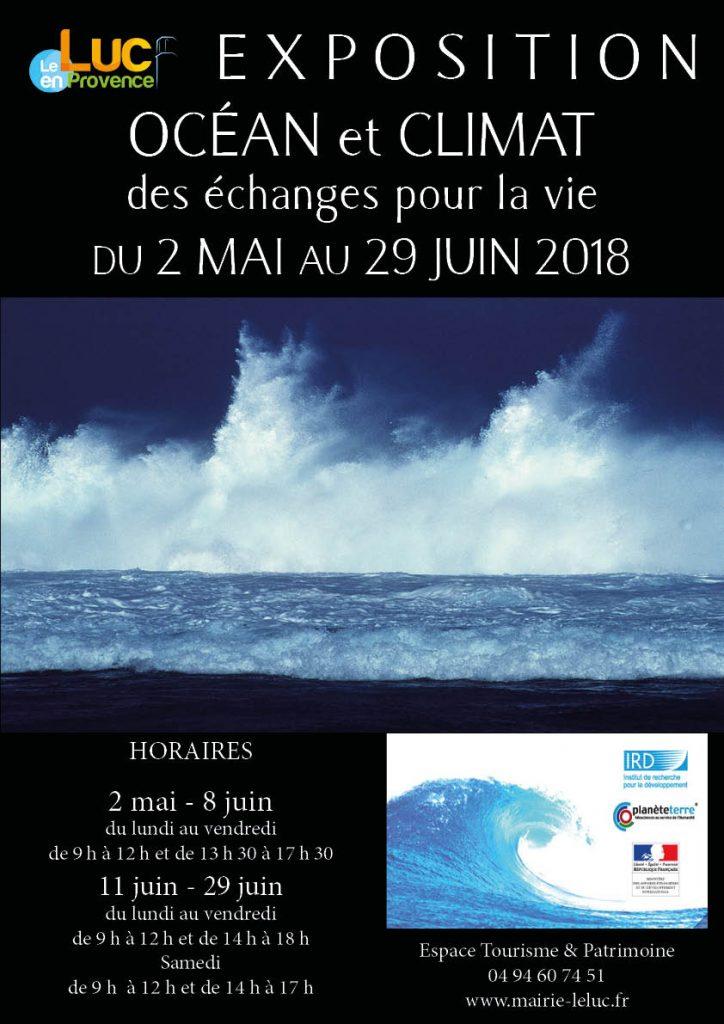 Du 2 mai au 29 juin, Exposition Océan et climat, des échanges pour la vie