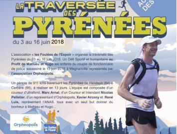 La traversée des Pyrénées : le défi du lucois Marc Arnal