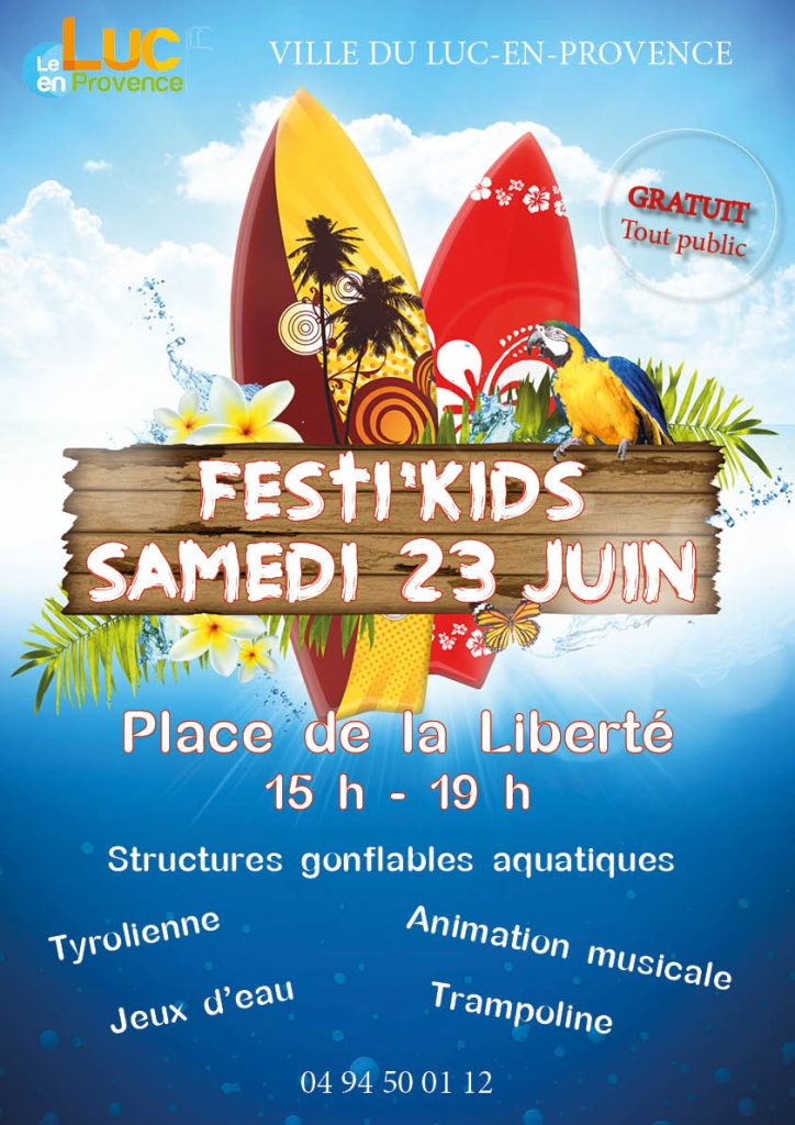Samedi 23 juin, Festi'kids