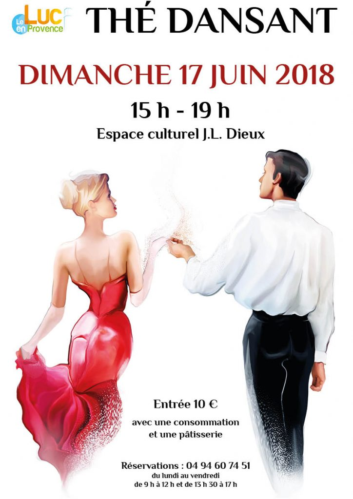 Dimanche 17 juin, Thé dansant