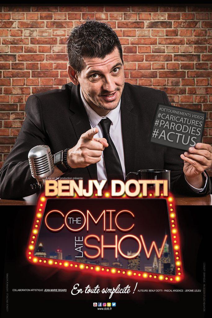 Samedi 11 août, Soirée humour avec Benjy Dotti