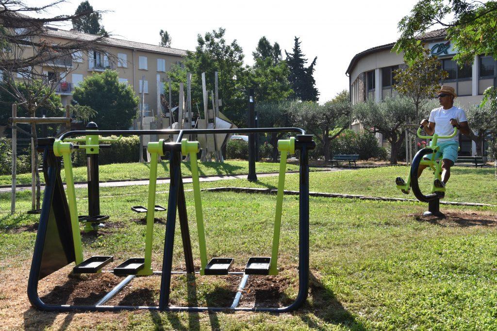 Un espace de fitness en plein air au Luc !