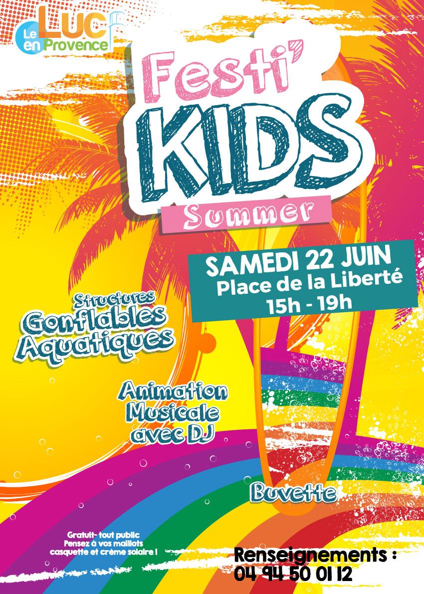 Samedi 22 juin, Festi'kids summer