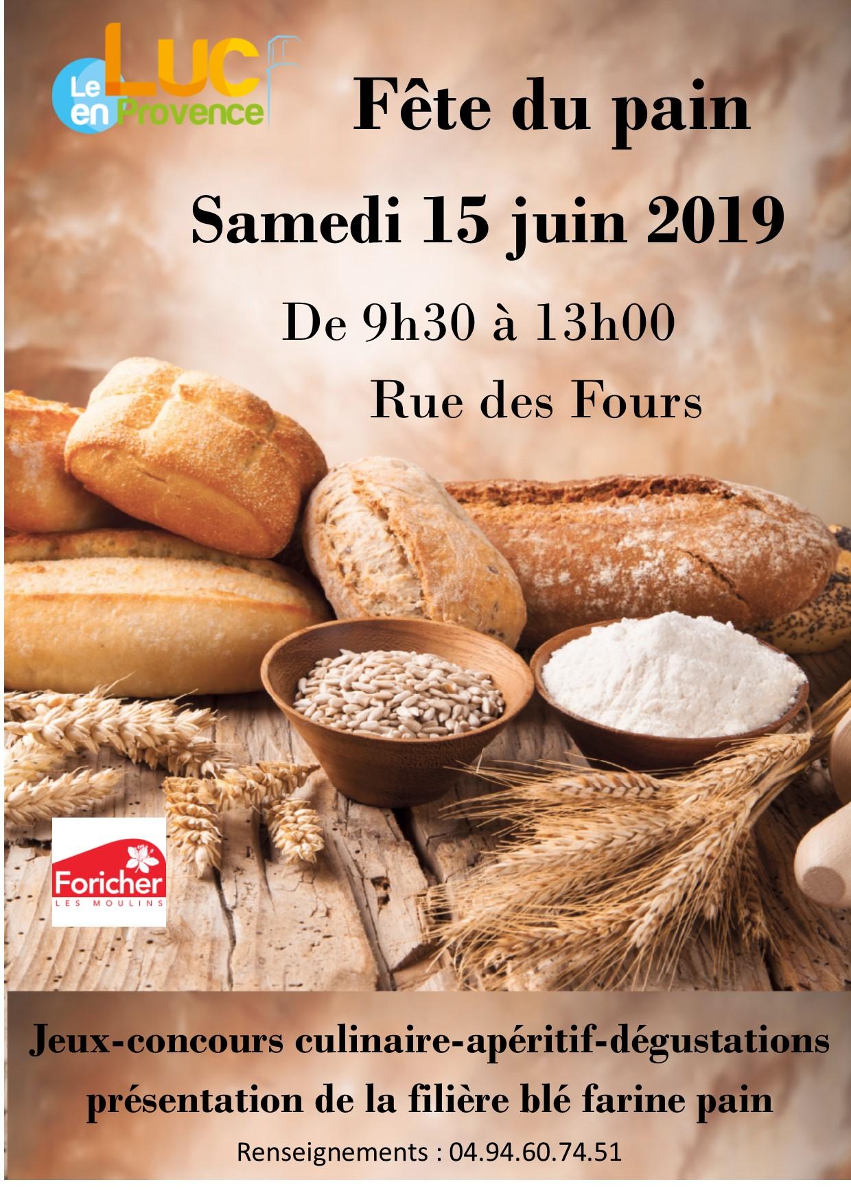 Samedi 15 juin, Fête du pain