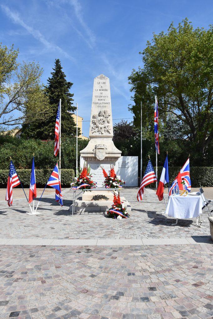 17 août, Cérémonie du 75e anniversaire de la Libération du Luc