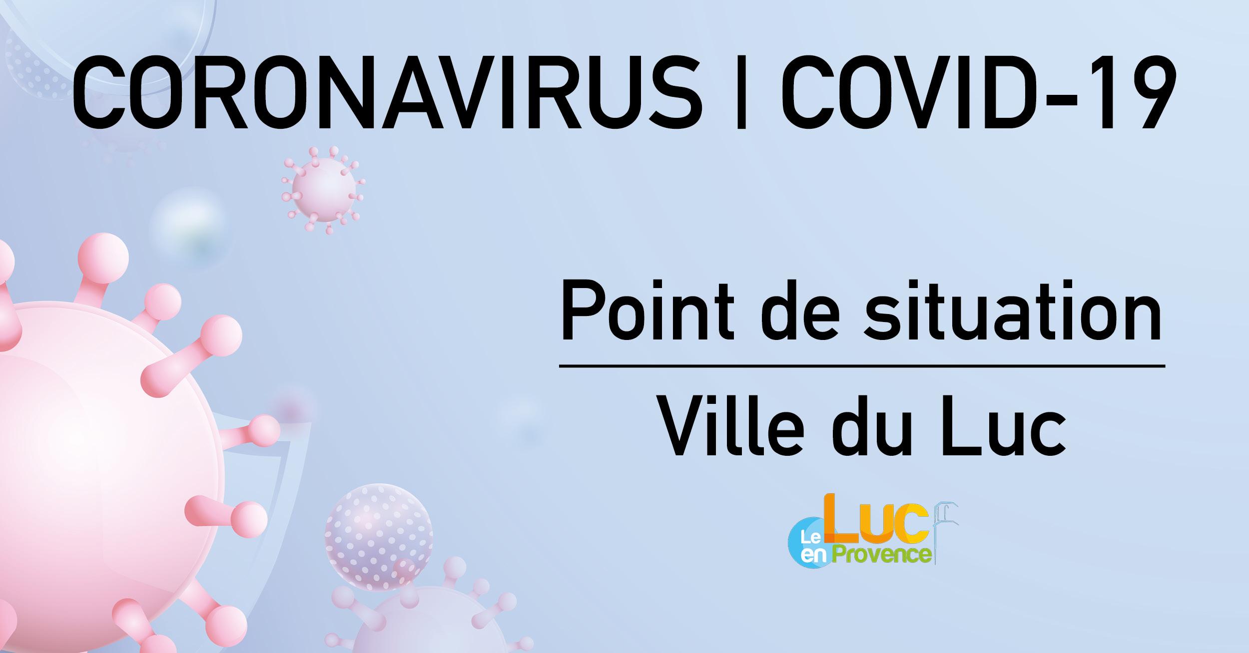 Coronavirus (Covid-19) : Point de situation du 25 mars 2020