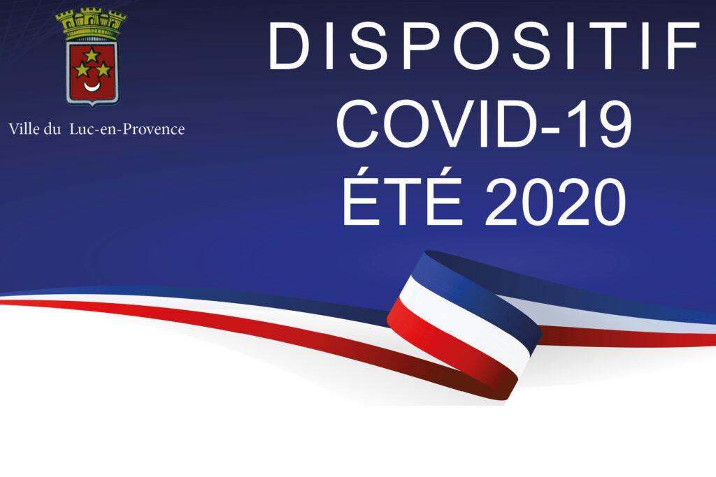 DISPOSTIIF COVID-19 | ÉTÉ 2020