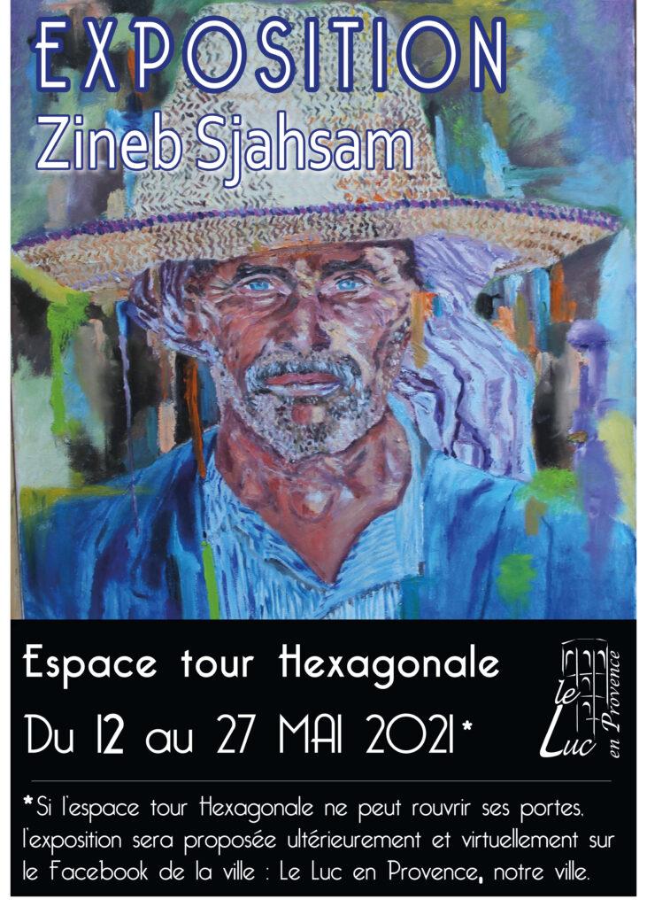 Du 12 au 27 mai – Exposition de peinture Zineb Sjahsam