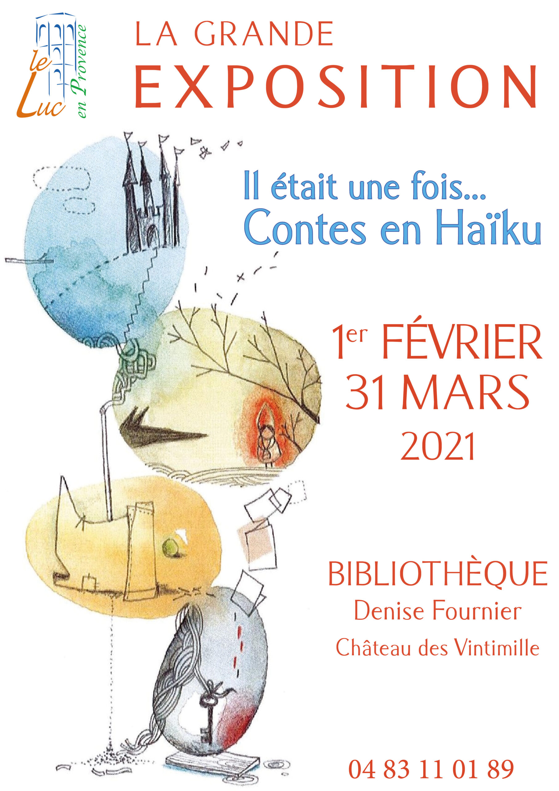 Du 1er février au 31 mars – Exposition « Contes en Haïku »