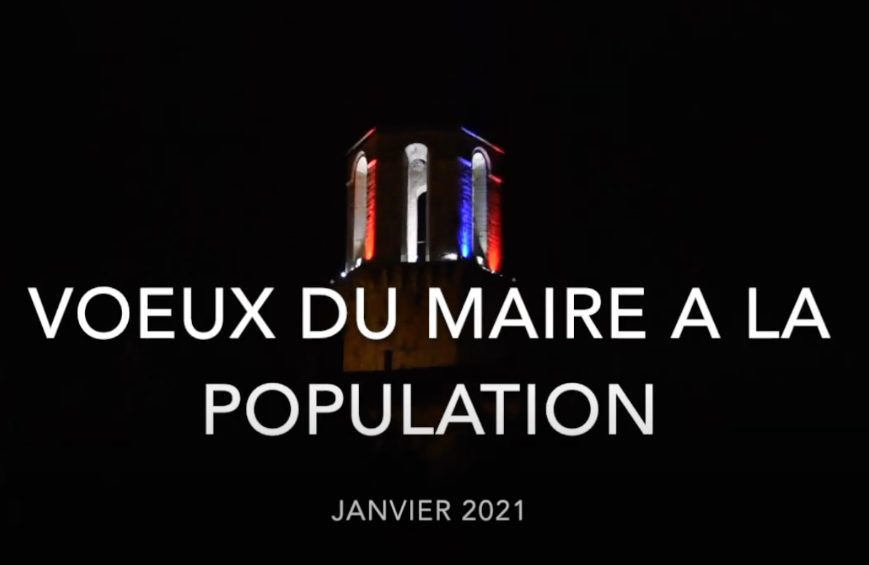 PRÉSENTATION DES VOEUX À LA POPULATION