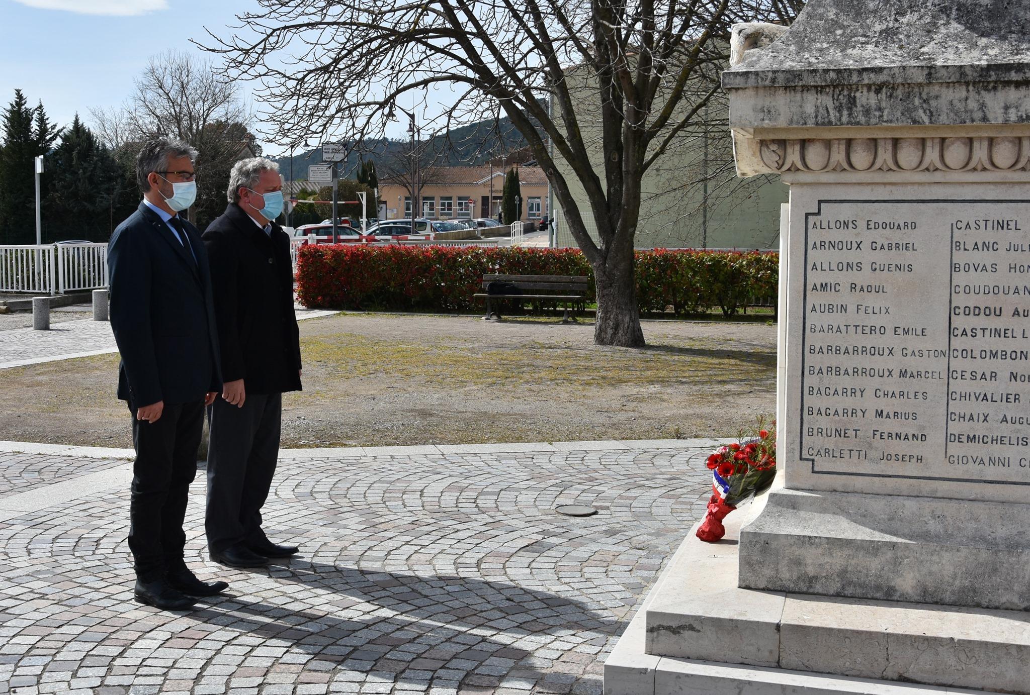 CÉRÉMONIE D'HOMMAGE NATIONAL AUX VICTIMES DU TERRORISME (11 MARS)