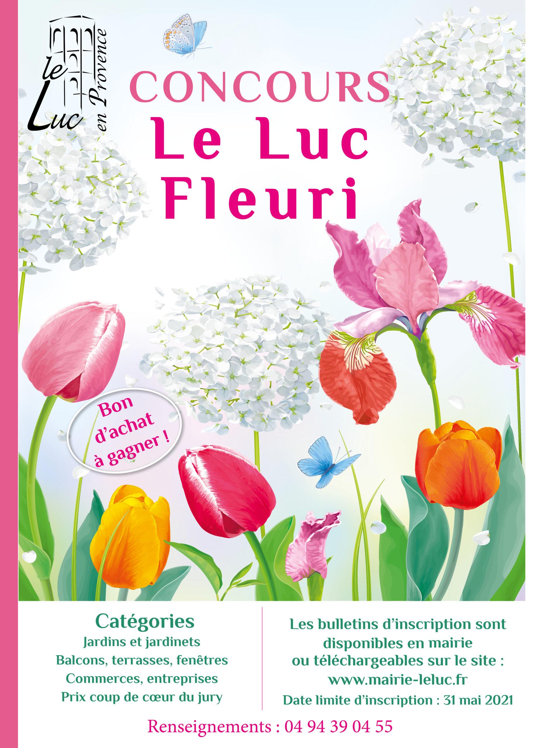 """Concours """"Le Luc fleuri"""""""