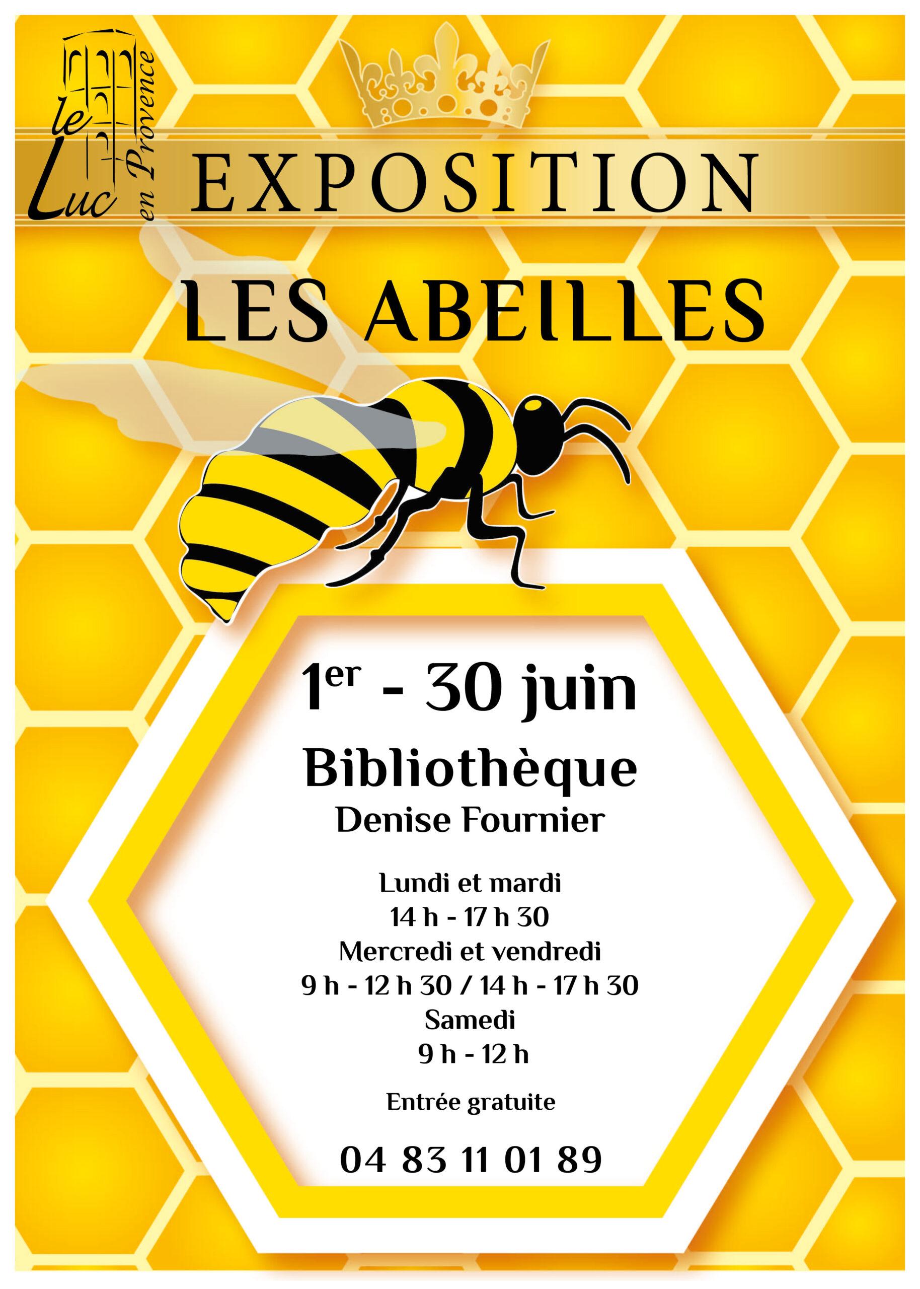 Du 1er au 30 juin – Exposition « Les abeilles »