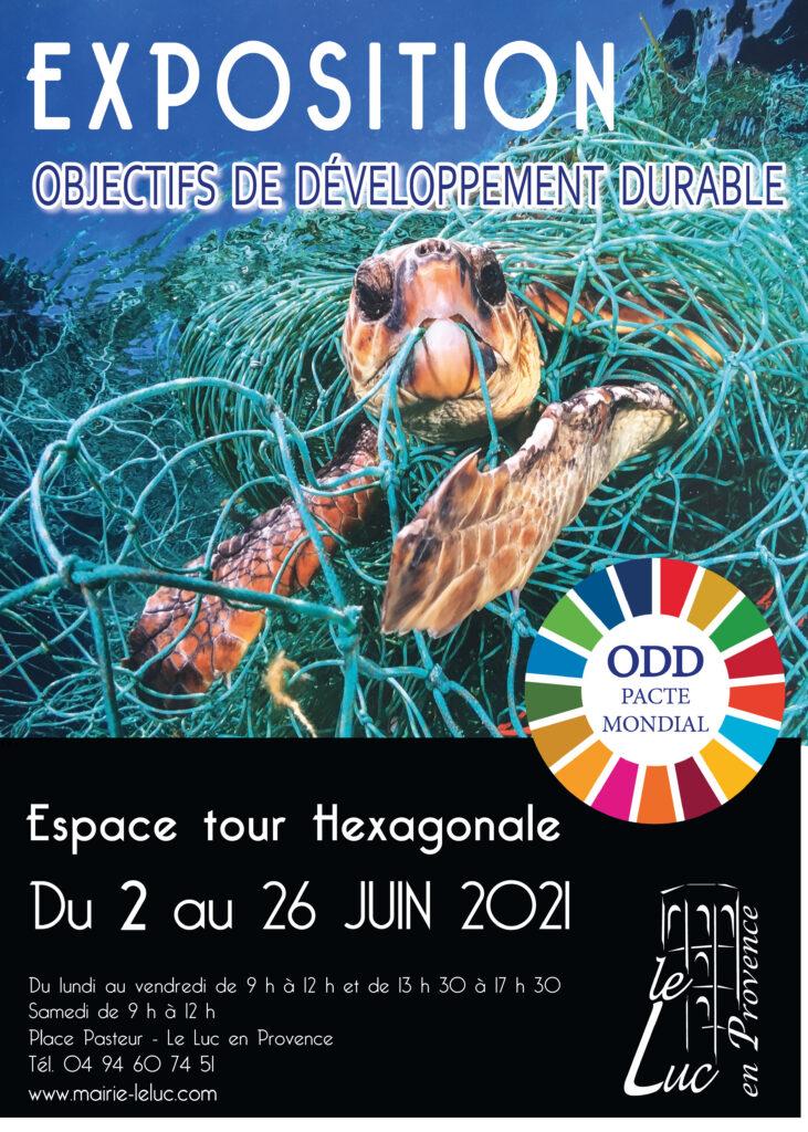 """Du 2 au 26 juin – Exposition """"Objectifs de développement durable"""""""