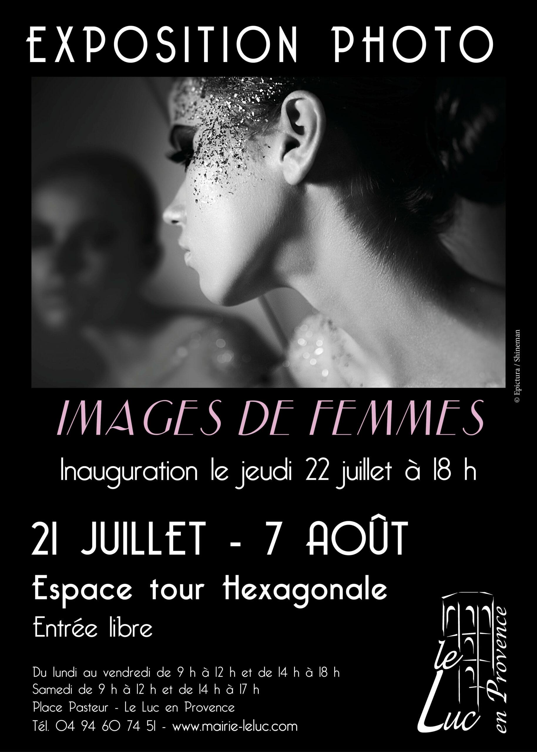 "21 juillet – 7 août – Exposition ""Images de femmes"""