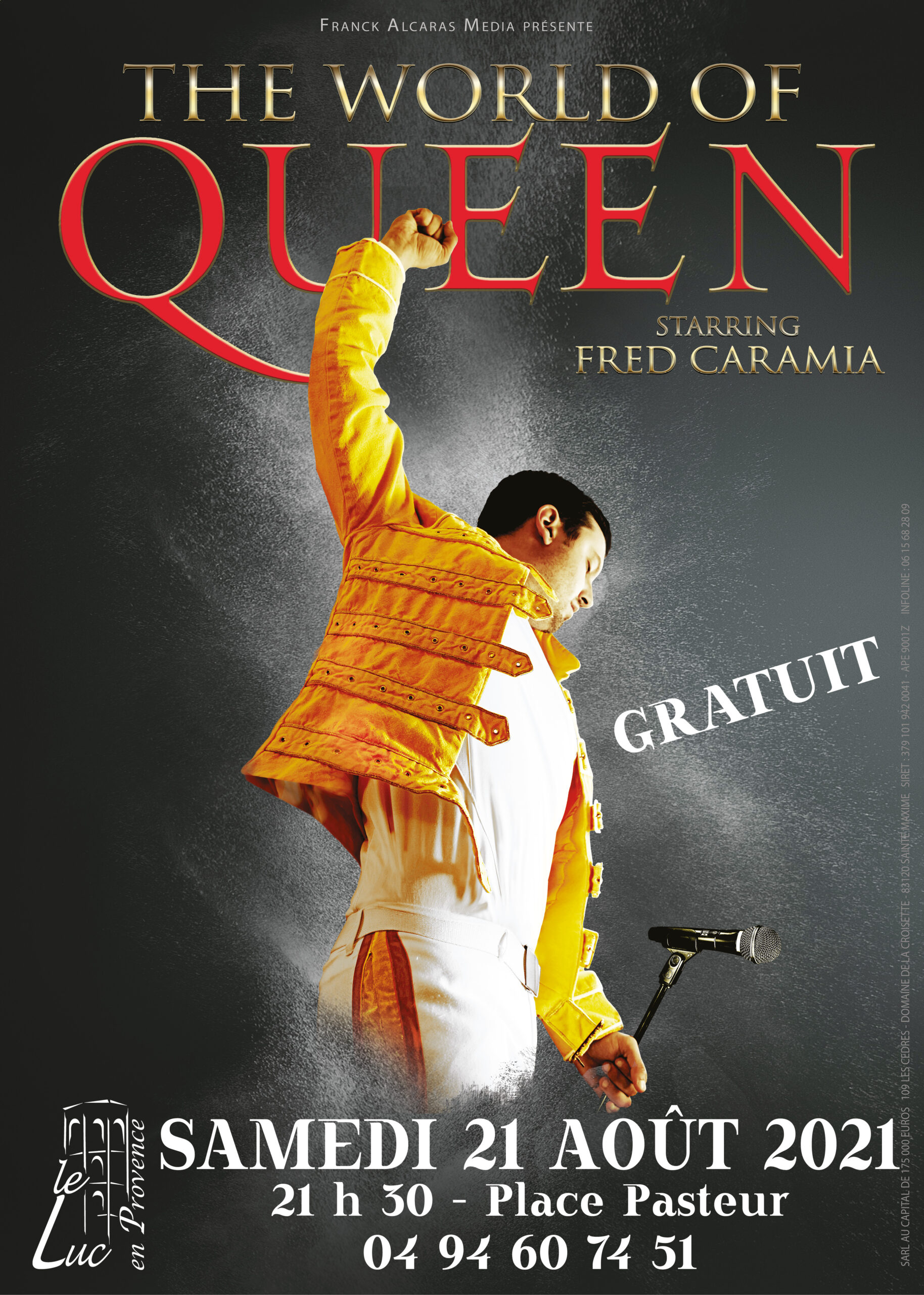 Samedi 21 août – The world of Queen