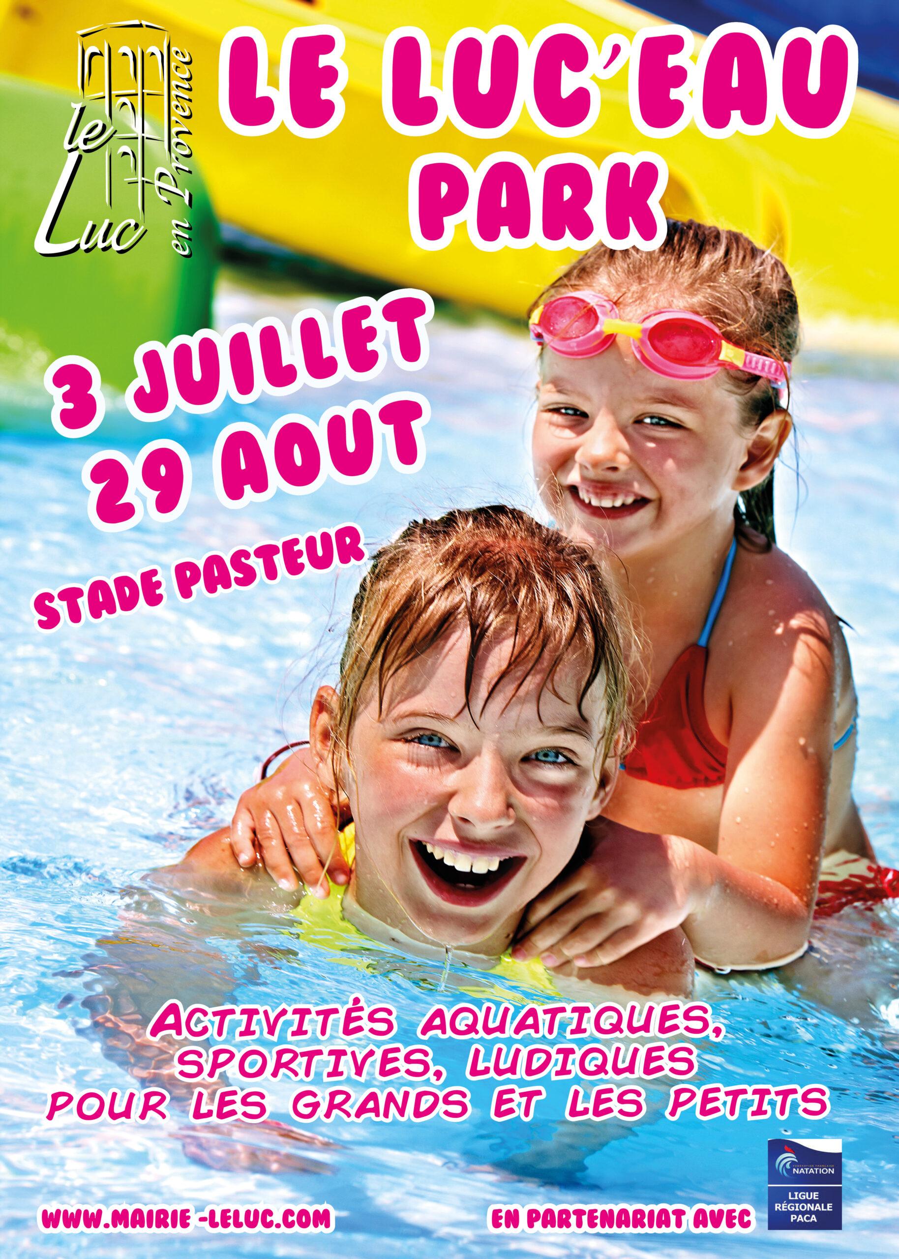 Jusqu'au 29 août – Le Luc'eau park