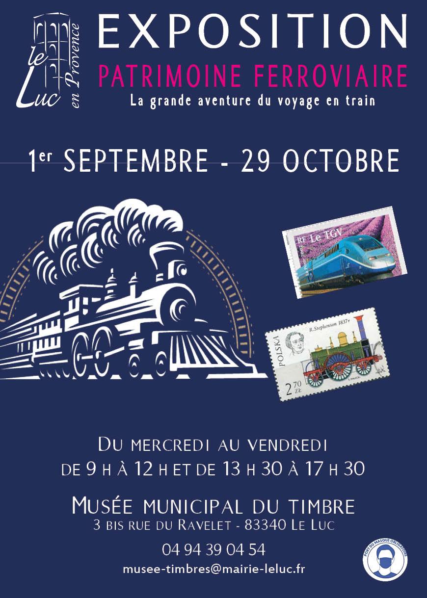 """Jusqu'au 29 octobre – Exposition """"Patrimoine ferroviaire : la grande aventure du voyage en train"""""""