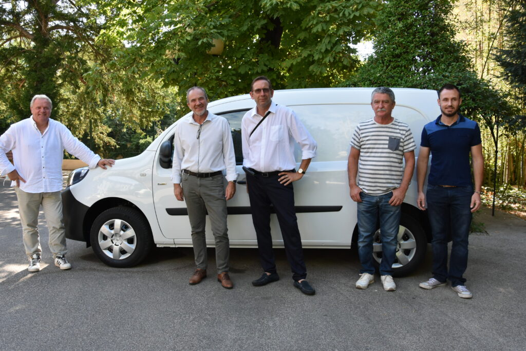 Réception du premier véhicule électrique de la commune