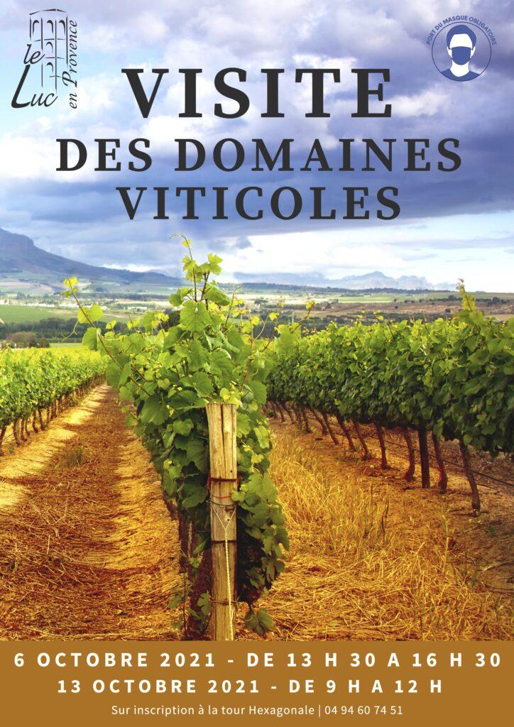 Les 6 et 13 octobre – Visite des domaines viticoles