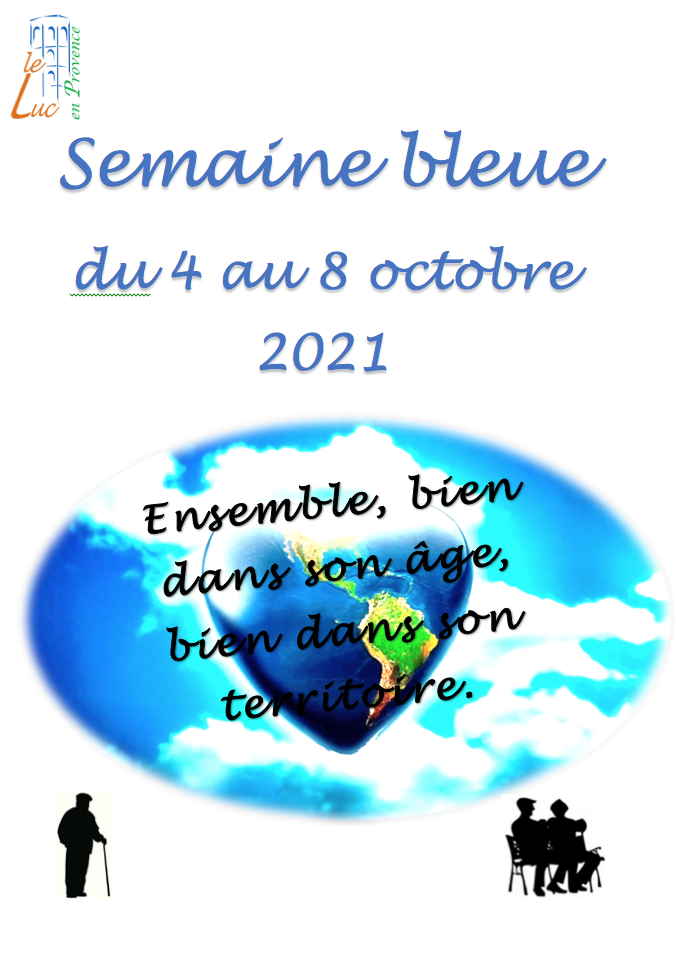 4 au 8 octobre – Semaine bleue